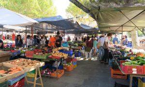 Pollensa Sunday Market in the Main Square
