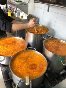Comida Solidaria con Restaurante Bellaverde