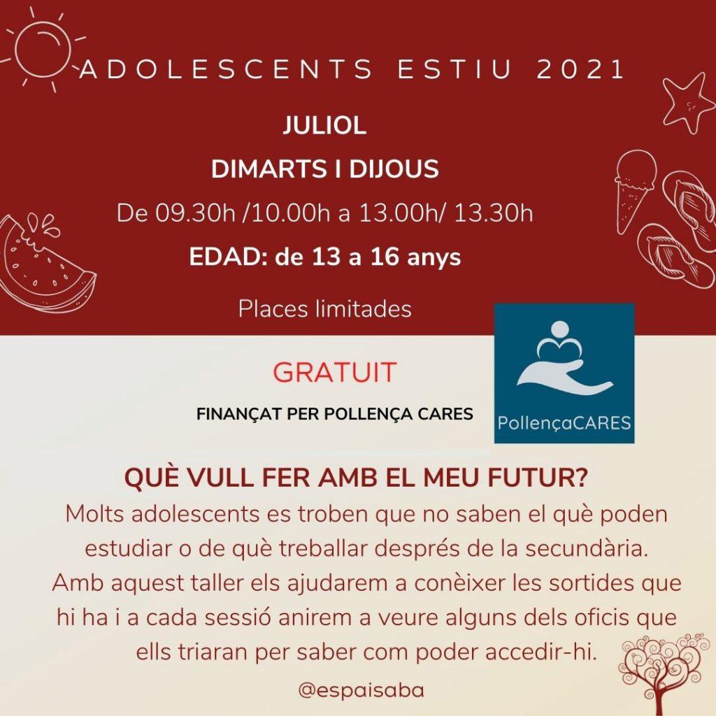 Espai Saba Adolescent Workshop